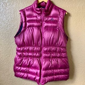 2000s Nike ACG Down Puffy Vest Fuschia Pink